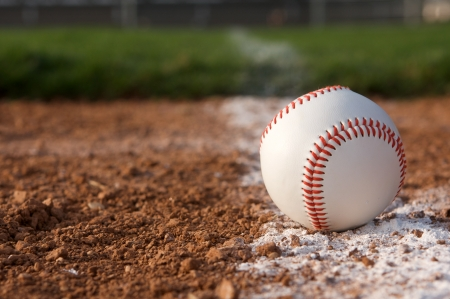 infield: Baseball on the Infield Chalk Line