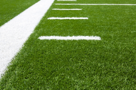 american football background: Yard Lines of a Football Field for Sports Background
