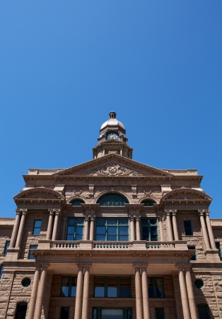 fort worth: Historic Tarrant County Courthouse, Fort Worth, Texas with room for copy