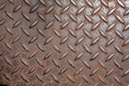 plating: Old Rusted Steel or Metal Plating for Background