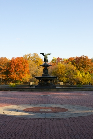 bethesda: Autumn or Fall at the Bethesda Fountain Central Park New York