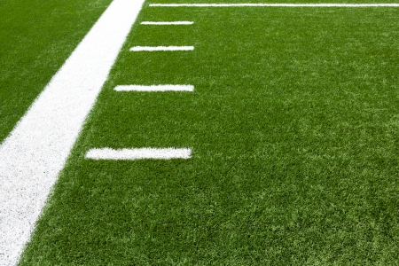 american football field: American Football Field Yard Lines with room for copy