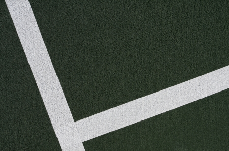 Tennis Court Lines background with room for copy