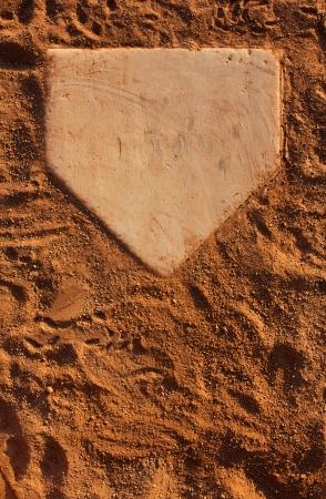 campo de beisbol: Campo de béisbol de Home Plate con capacidad para copiar