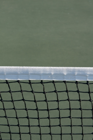 Tennis Court Net with room for copy above