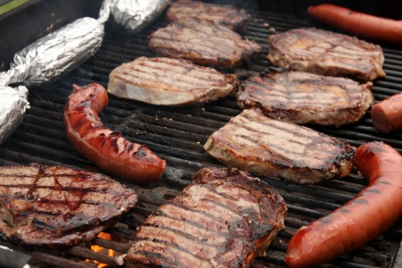Barbecue on the Grill photo