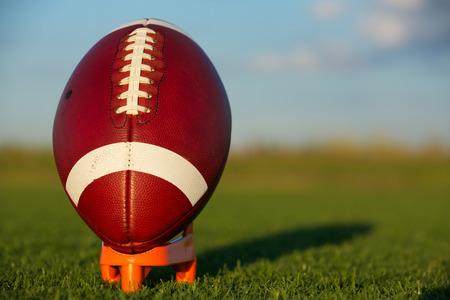 American Football ready for kickoff photo