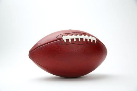 professional football: Professional Football Isolated on White