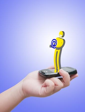 virtual communication Stock Photo - 10530475