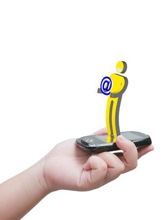 virtual communication Stock Photo - 10530471