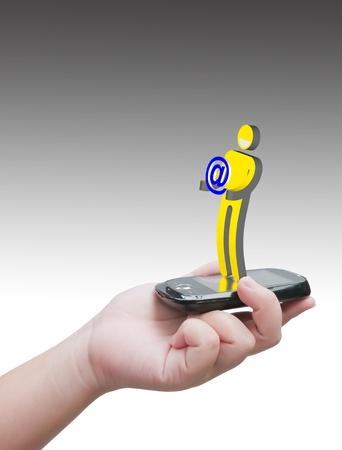 virtual communication Stock Photo - 10530474