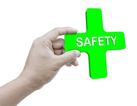 Safety Stock Photo