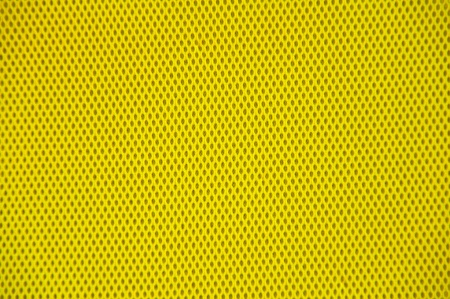 breathable: yellow polyester fabric