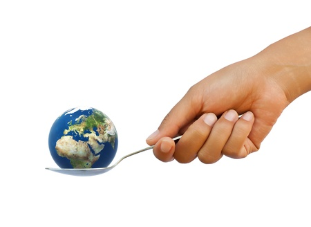 Earth in the spoon