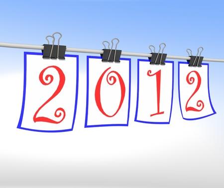 fin d annee: Bonne ann�e 2012