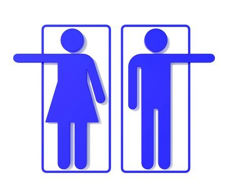 public restroom: Restroom Signs