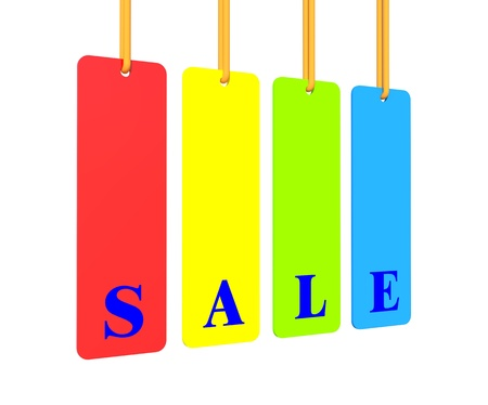Sale label Stock Photo - 12037089