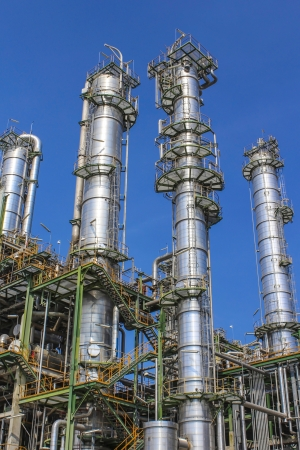 Structure of Oil and chemical factory in day time Stock Photo - 16148446