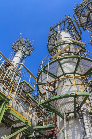 Structure of Oil and chemical factory in day time Stock Photo - 16150709