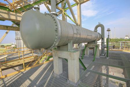 exchanger: Heat exchanger in refinery plant