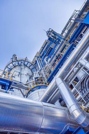oil and chemical industrial factory Zdjęcie Seryjne