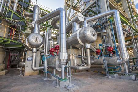 Heat exchanger in Refinery industrial factory