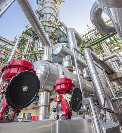 exchanger: Heat exchanger in Refinery industrial factory