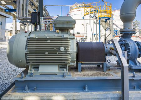 pompe de transfert avec entraînement principal du moteur électrique Banque d'images