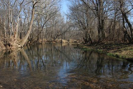 missouri: Quiet creek in Missouri