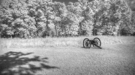 battlefield: Pea Ridge Battlefield in Arkansas