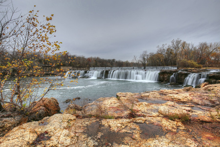 missouri: Grand Falls in Joplin, Missouri Stock Photo