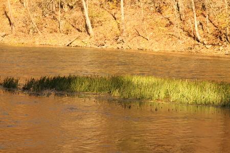 missouri: Ha Ha Tonka at Lake of the Ozarks in Missouri Stock Photo
