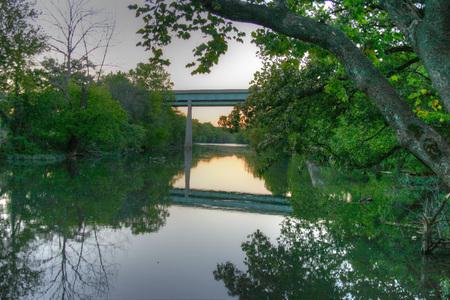 shoal: Shoal Creek in Joplin, Missouri
