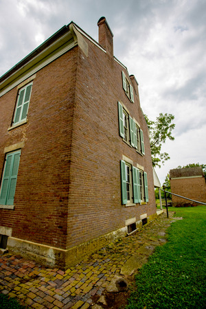 Watkins Woolen Mill State Park and State Historic Site in Lawson, Missouri