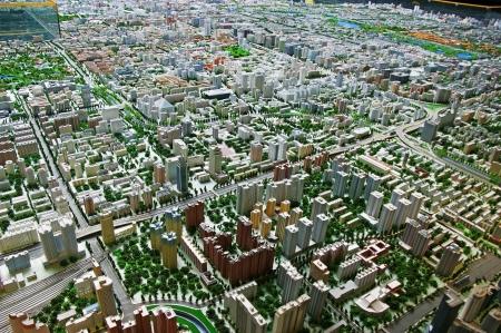 Detailed surround plan layout of Beijing.