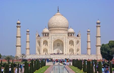 The most beautiful Palace of India - the Taj Mahal.