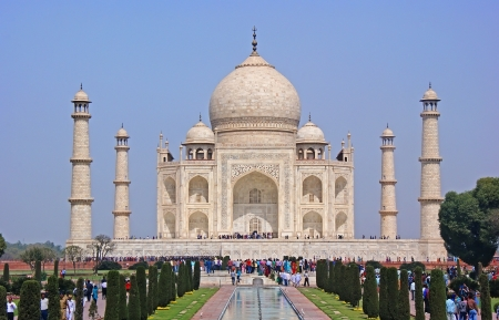 The most beautiful Palace of India - the Taj Mahal.