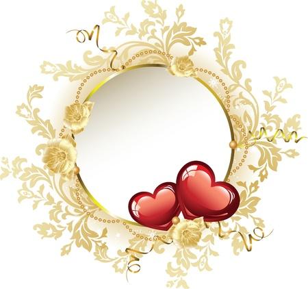 Vintage Frame Valentine Stock Vector - 11268762