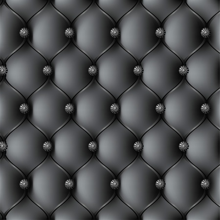 diamond shaped: Leather upholstery