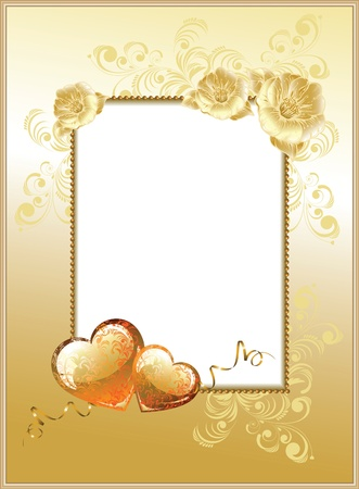 frame-background Valentines Day  Vector