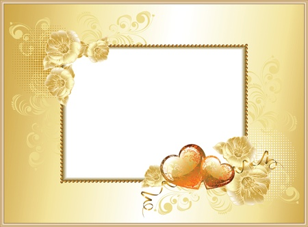 frame-background Valentine's Day  Vector