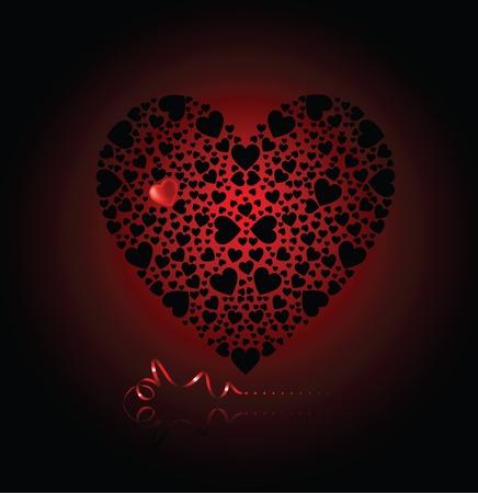 gothic design: Heart