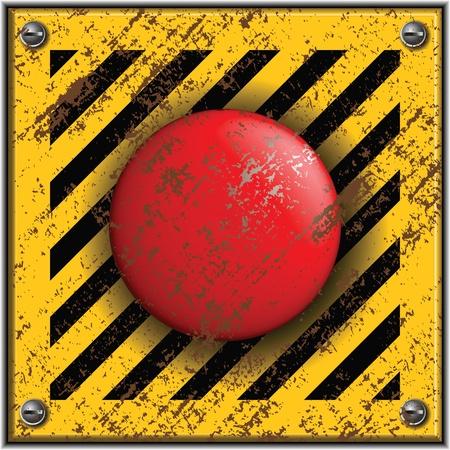 bombe atomique: Lancement bouton.