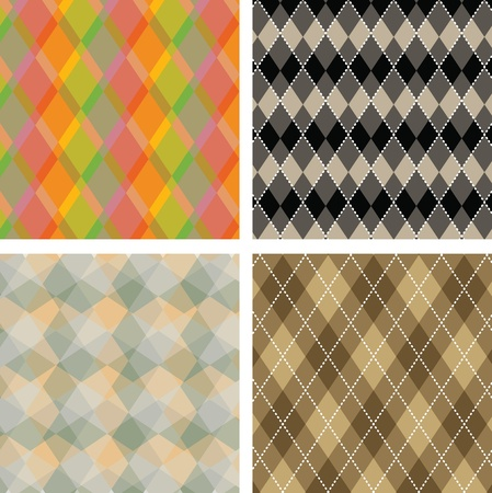 oldish: Seamless plaid pattern