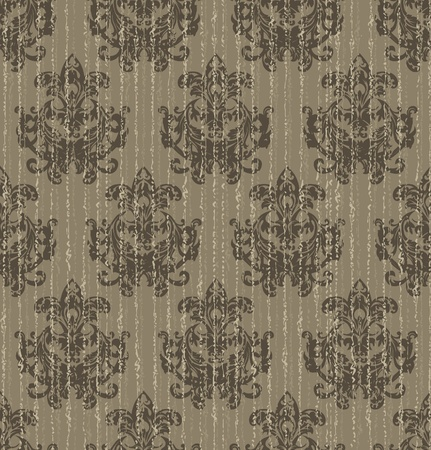 restyled: old seamless wallpaper baroque