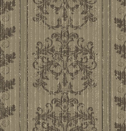 restyled: Seamless old baroque wallpaper.