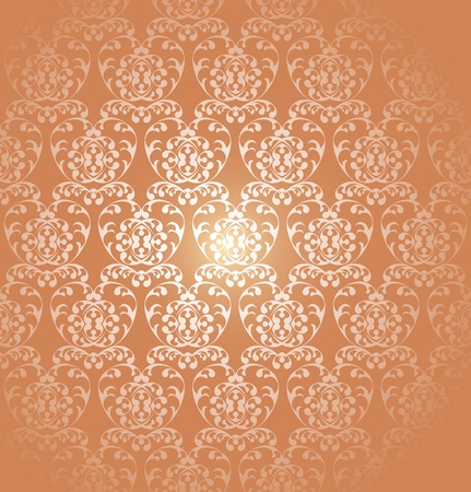 Gothic style: Seamless Wallpaper