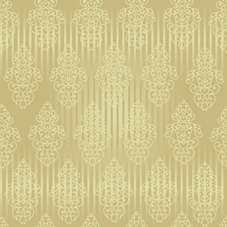 restyled: Seamless wallpaper baroque