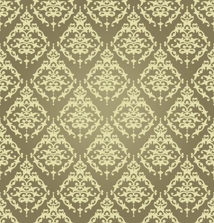 restyled: Seamless wallpaper Golden