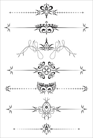gothic architecture: Ornamental Rule Lines.